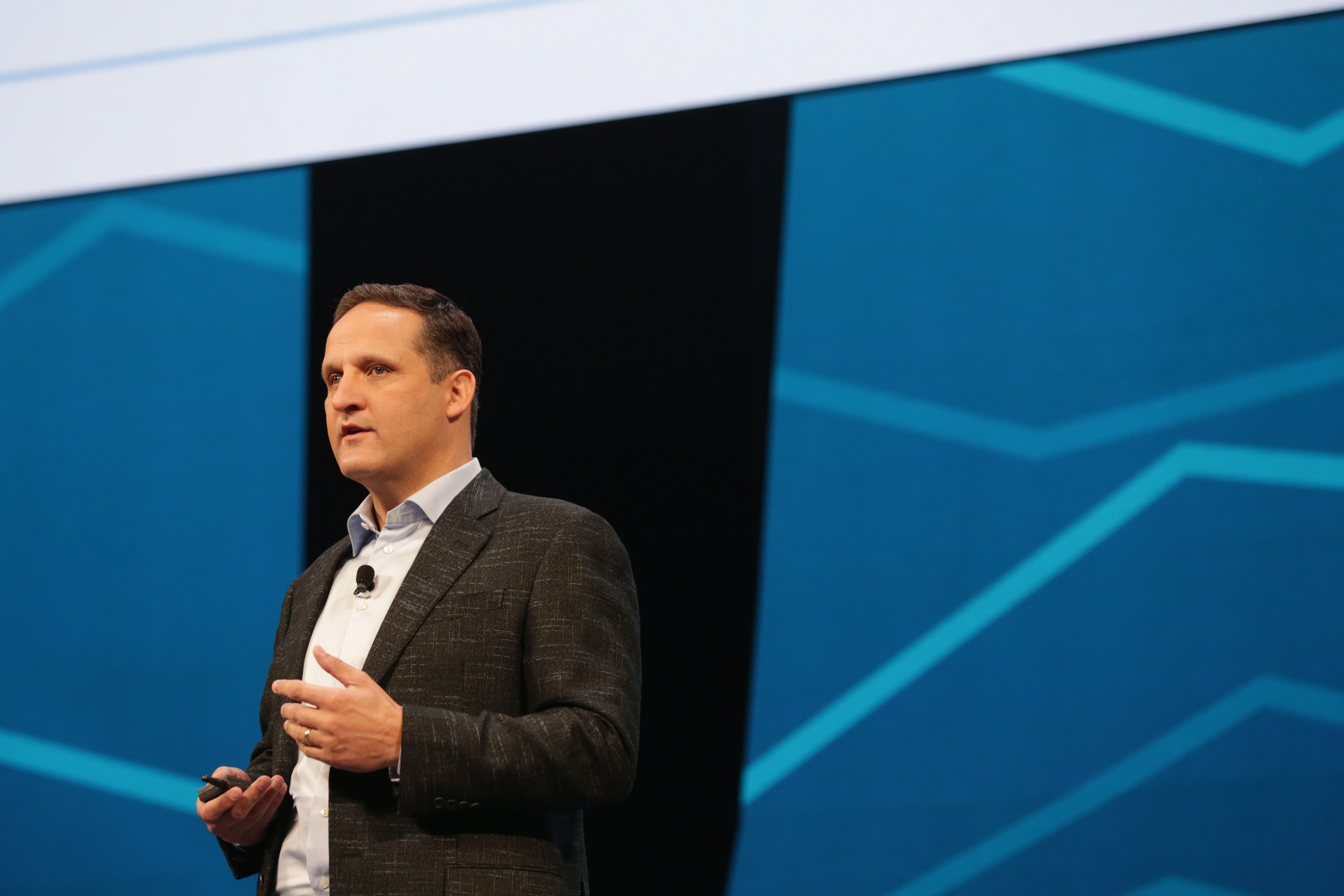 CEO Adam Selipsky speaking at the annual Tableau Conference