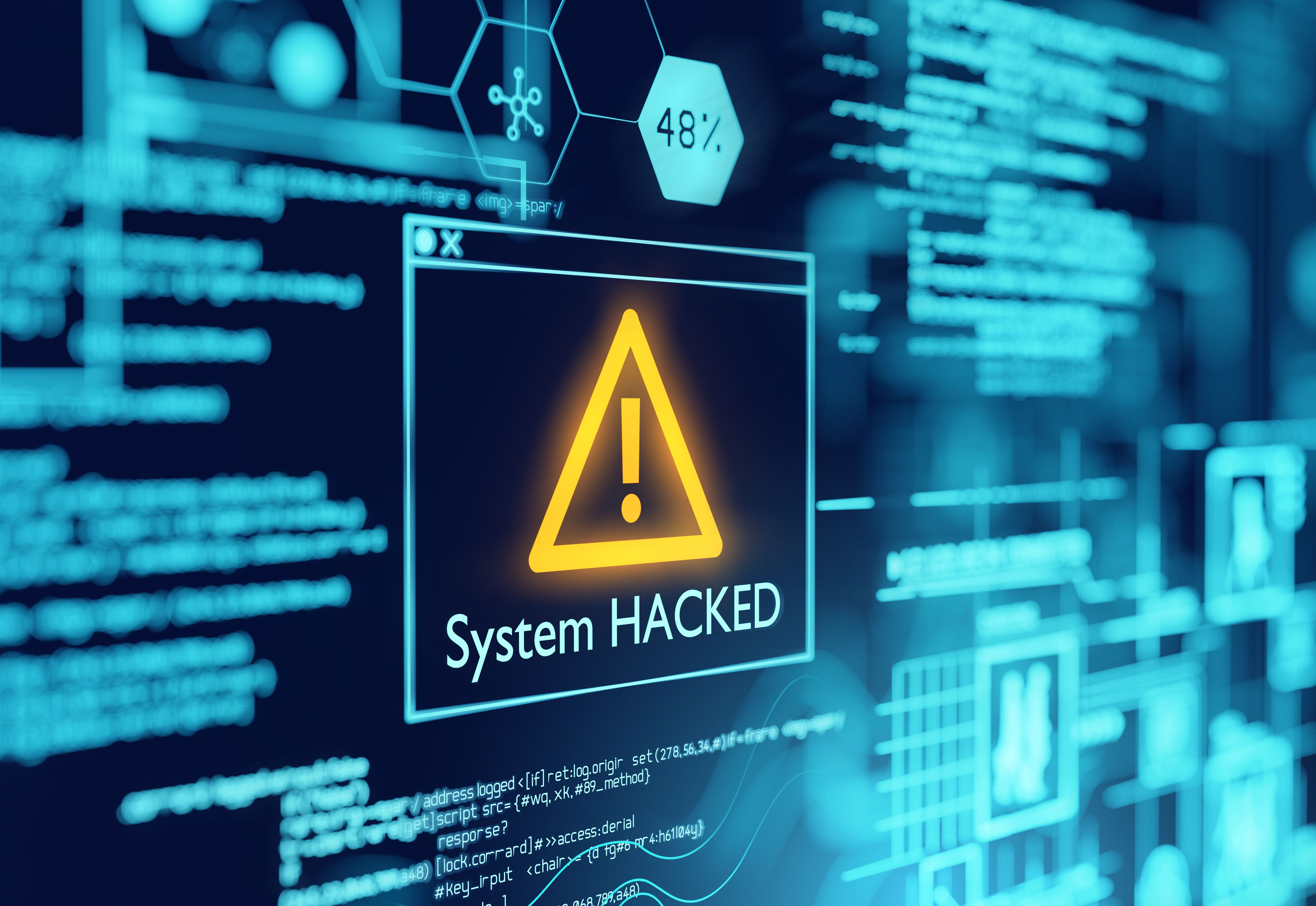 system hacked