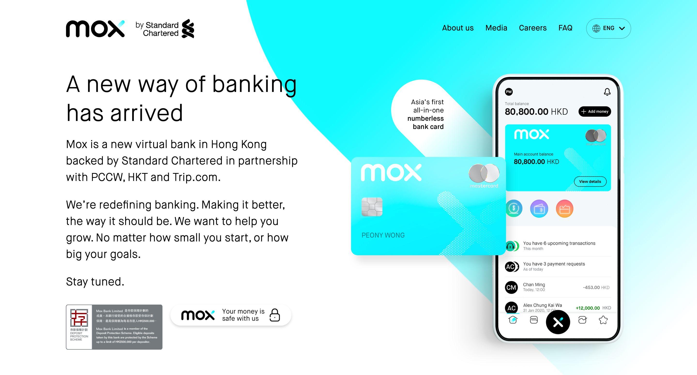 Mox website image