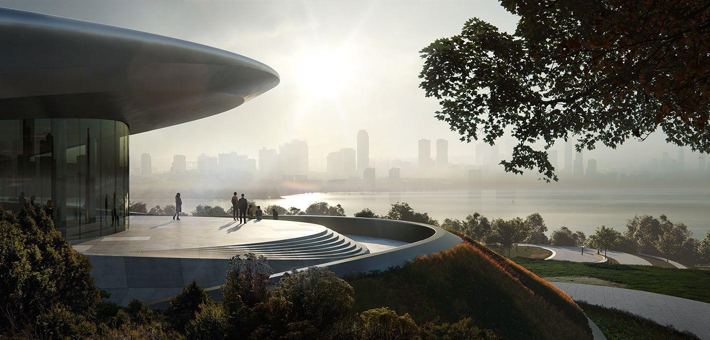 Zaha Hadid Architects, Unicorn Island