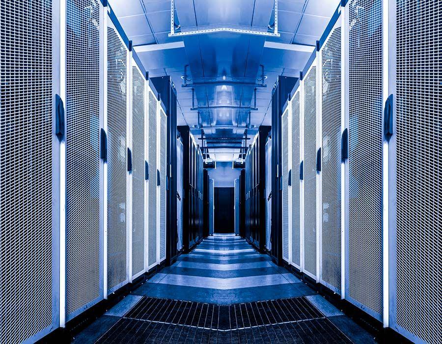 data centre internal