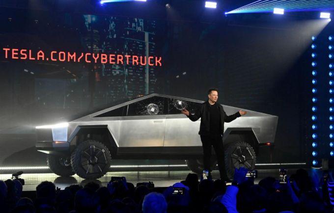 Elon Musk Tesla Cybertruck