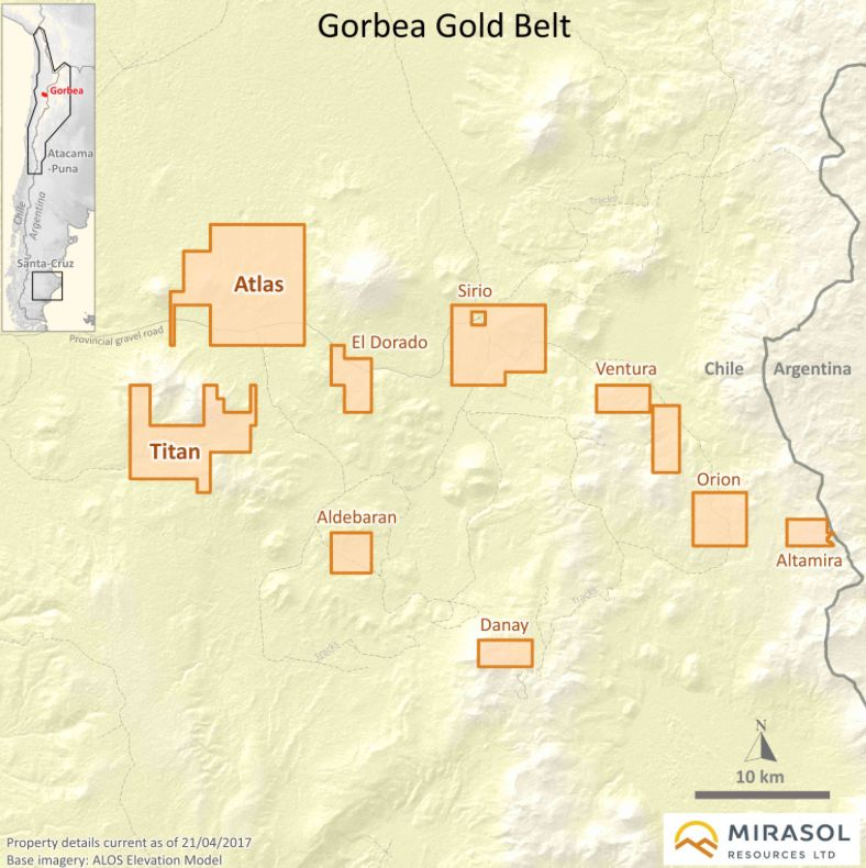 Gorbea Gold Belt