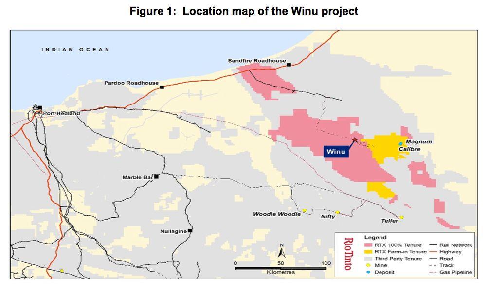 Rio Tinto Winu Project Pilbara, WA