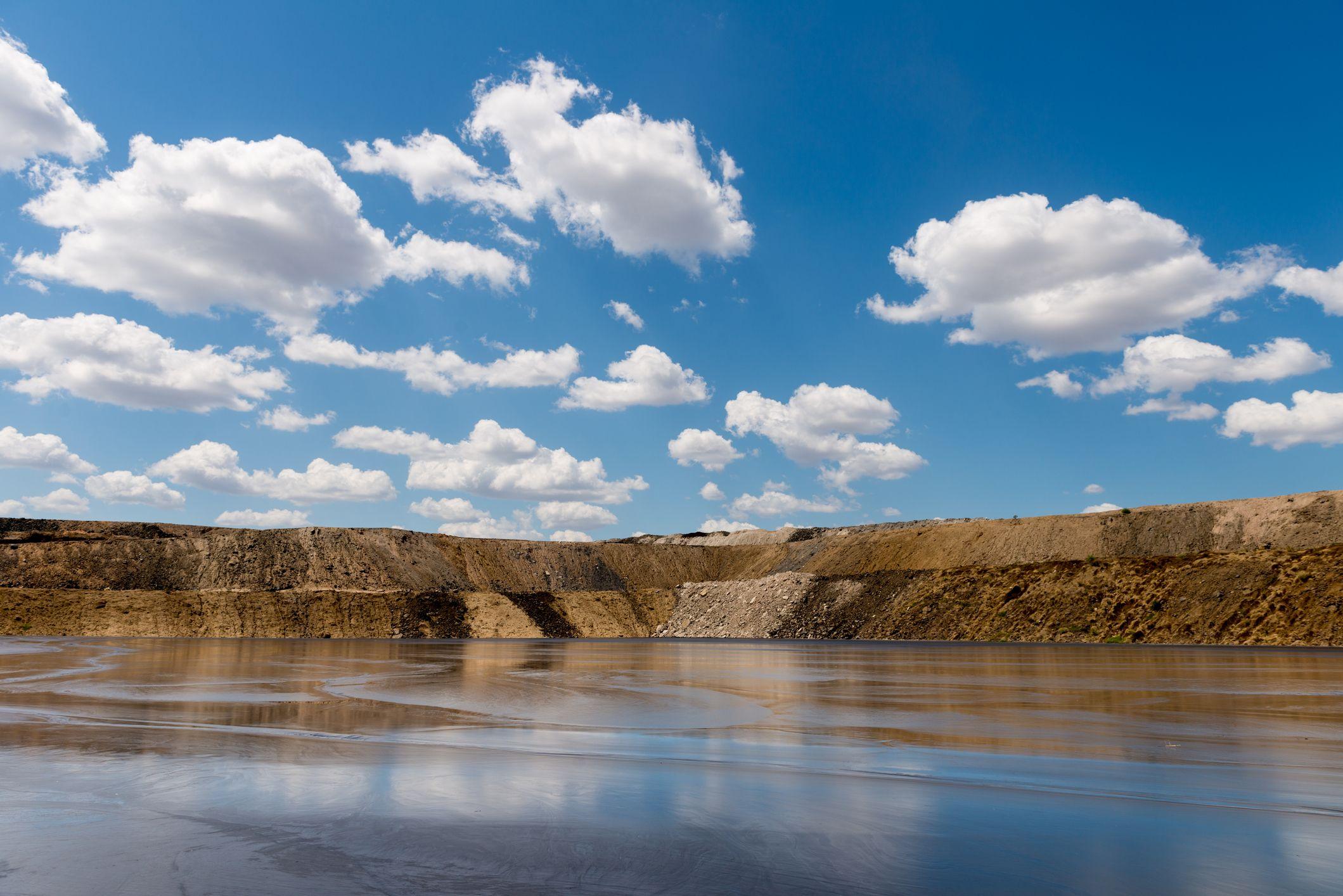 GMG, tailings dam