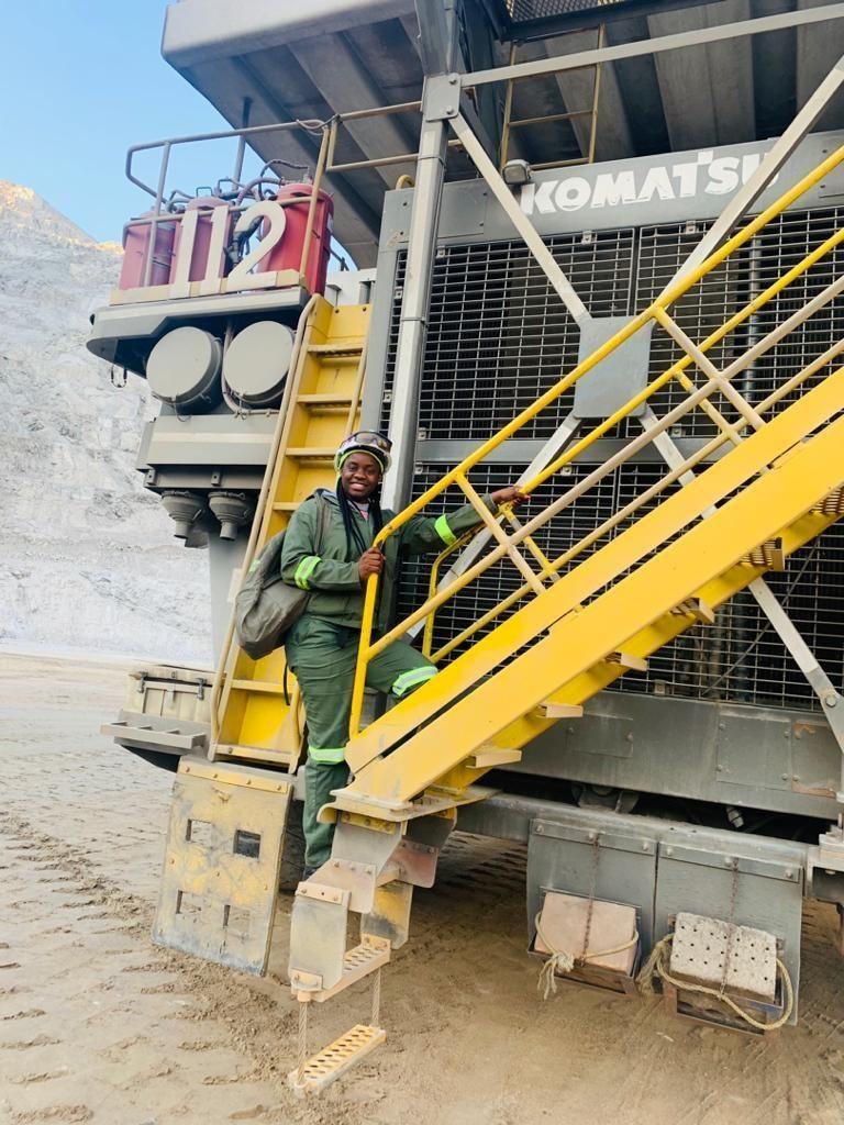 Rossing, women in mining