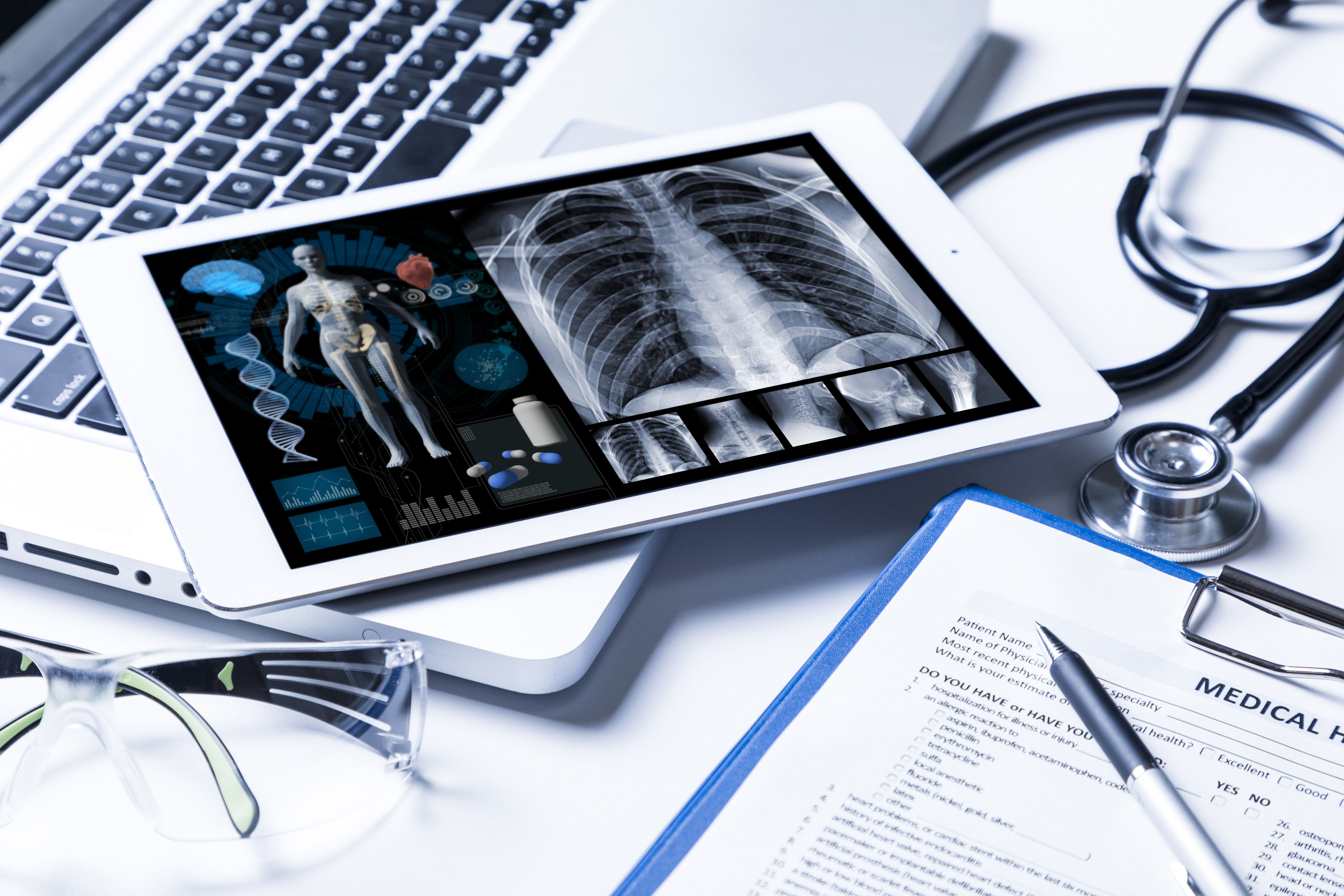 Transforming patient connectivity and data security in EMRs. Healthcare technology