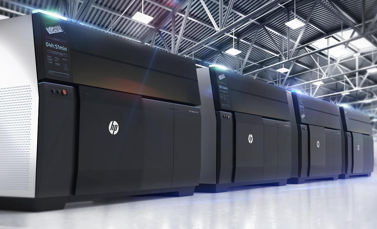 The Hp Metal Jet printers